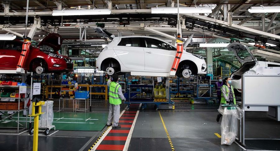 French government outlines €8bn car industry rescue package
