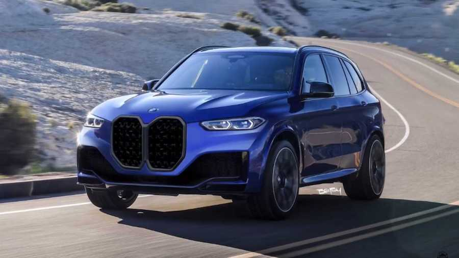 BMW X5 With Gigantic 4 Series Grille Previews The Inevitable
