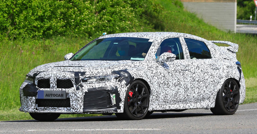 2022 Honda Civic Type R: next-gen hot hatch seen for first time