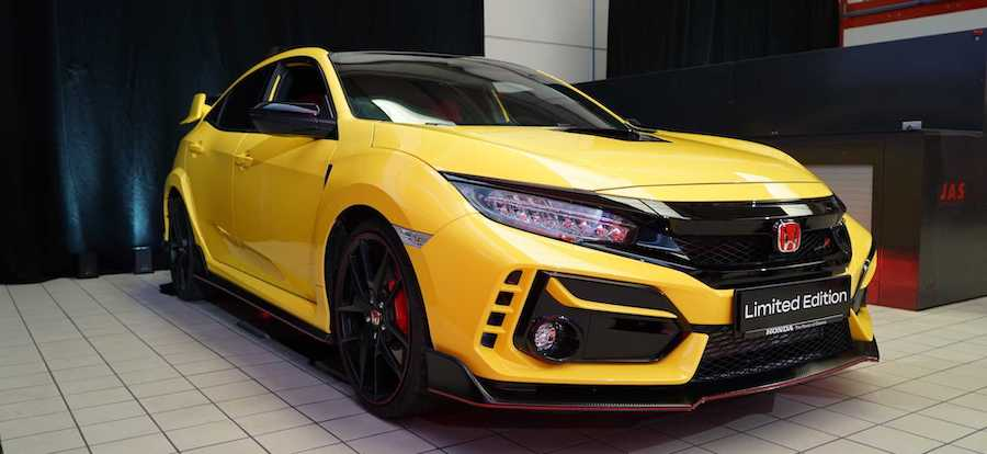 Honda Civic Type R Limited Edition Sells Out In Canada In Four Minutes