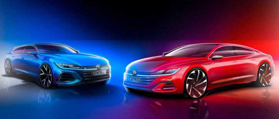 2021 VW Arteon Teased Ahead Of June 24 Reveal, Wagon Confirmed