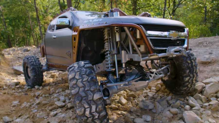 Crazy Chevy Colorado Kymera Is An Apocalypse-Ready Off-Road Monster