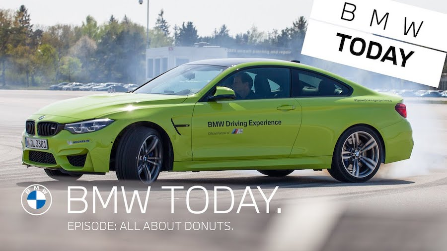 BMW Reveals Its Secrets For Doing Perfect Donuts