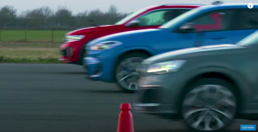 VW T-Roc R, Audi SQ2, BMW X2 M35i Drag Race Is Too Close To Call