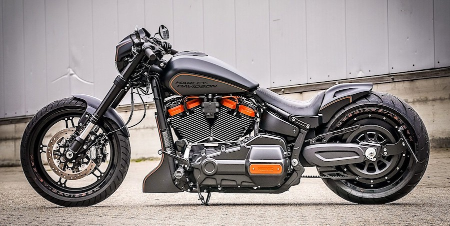 Harley-Davidson Black Rebel Is a Full Custom Thunderbike
