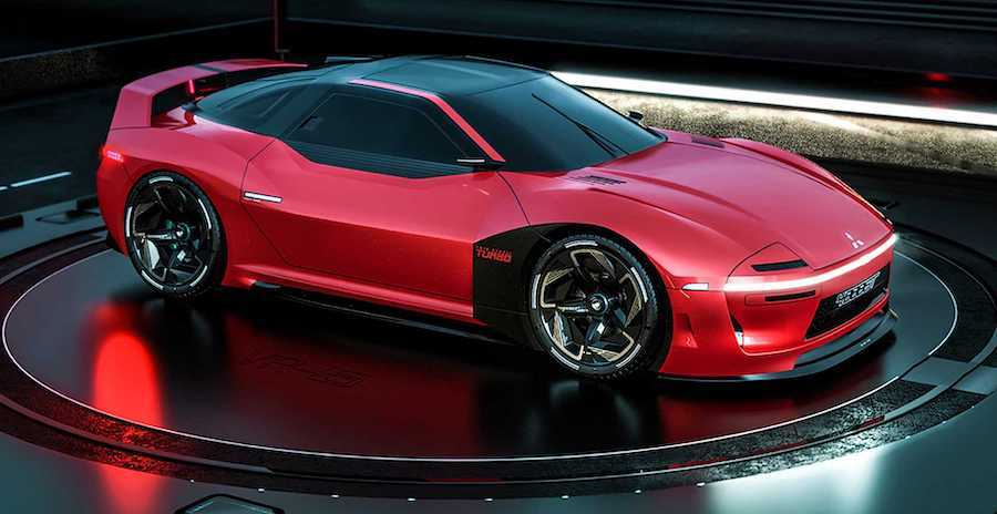 Mitsubishi 4000GT Rendering Imagines Sharp-Edged Successor To 3000GT