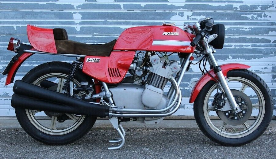 "Someone Paid $100k for ""The Ferrari of Motorcycles,"" Namely This MV Agusta 850SS"
