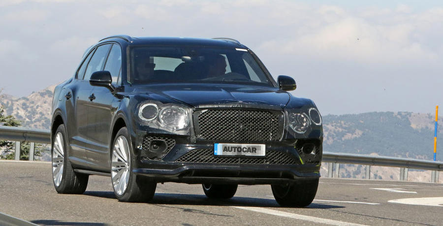 2020 Bentley Bentayga facelift previewed in leaked images