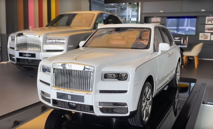 $40,000 Scale Model of Rolls-Royce Cullinan Will Blow Your Mind