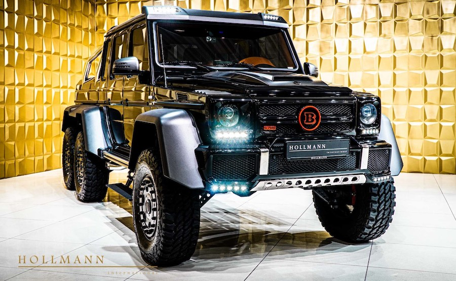 Brabus Mercedes-AMG G 63 6x6 Is a Bargain at $900,000