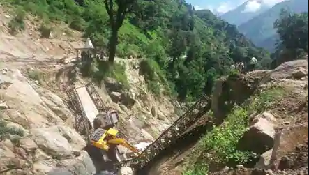 Terrifying Bridge Collapse In India Caught On Camera