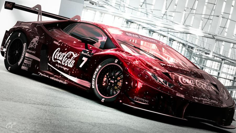"Lamborghini Huracan ""Coca-Cola"" Is a Refreshing Beast for Your Console"