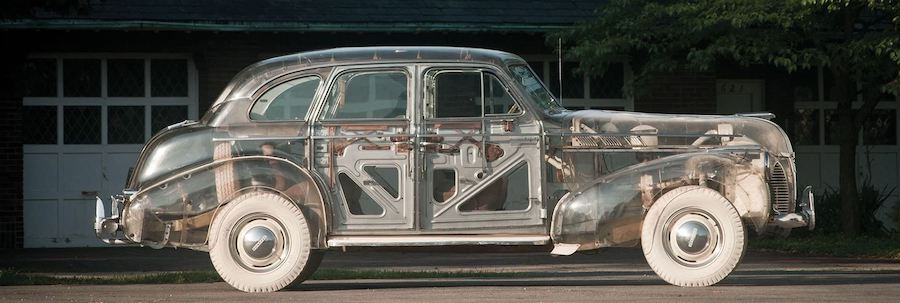 Blast From the Past: The Pontiac Ghost Car, the First All-Transparent Car