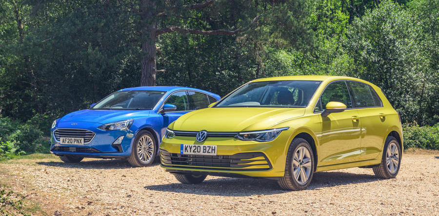Hatch match: 2020 Volkswagen Golf vs. Ford Focus