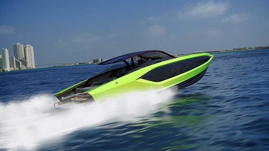 The Lamborghini Of Yachts Looks Just As Bonkers As The Supercars