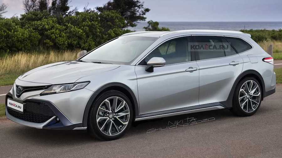 Toyota Camry Wagon Rendering Is The Venza We Really Want