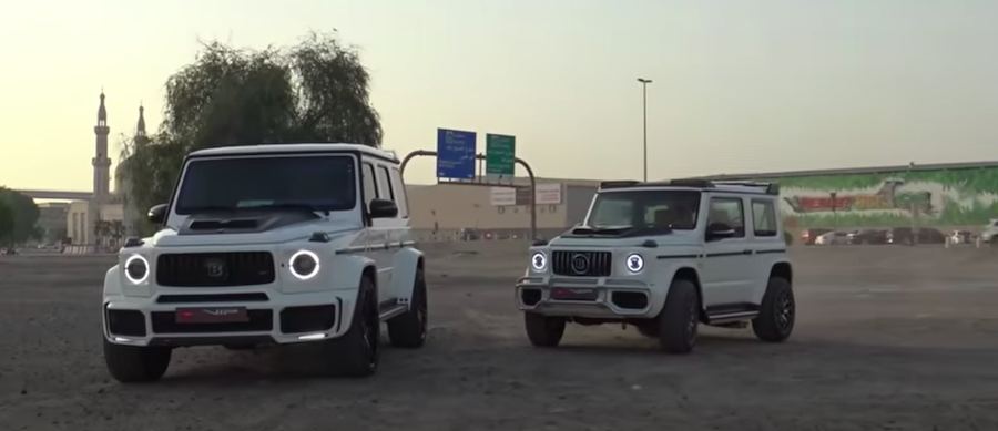 Supercar Blondie Samples A Convincing Jimny Brabus G-Class Clone