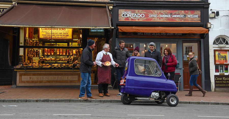 New Peel P50: a drive in the world's smallest car
