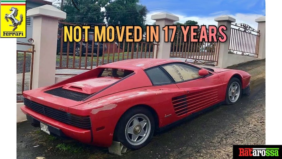 Who Will Save This Abandoned Ferrari Testarossa In Puerto Rico?