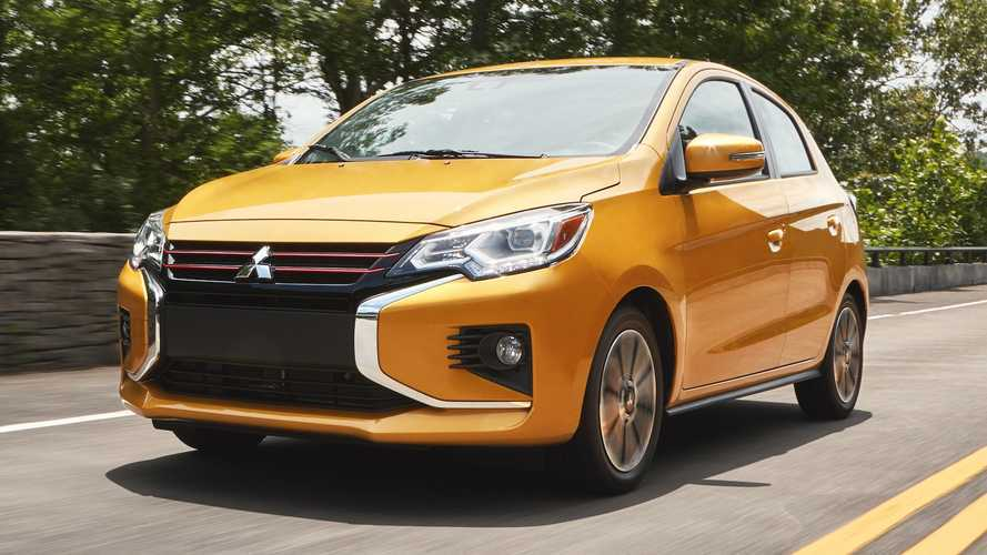 2021 Mitsubishi Mirage Redesign Revealed Amid Brand S Updated Lineup