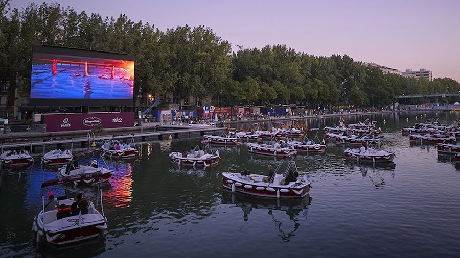 Floating Cinemas Are Becoming a Thing, Solid Competition for Drive-In Theaters