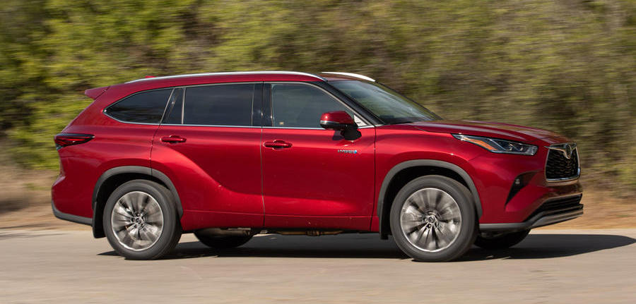 Toyota Highlander Hybrid 2020 review