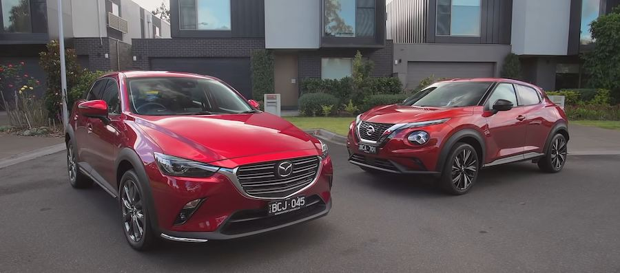 2020 Nissan Juke vs. Mazda CX-3: What's the Best Small Crossover?