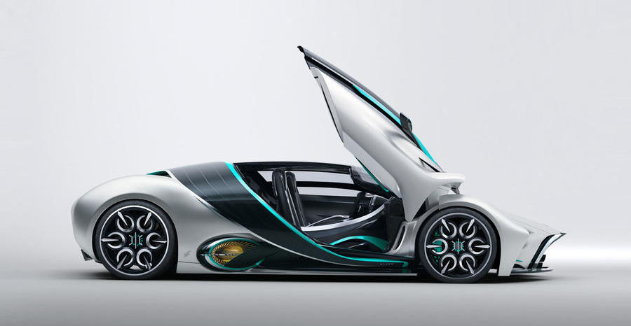Hyperion XP-1 hydrogen-powered supercar revealed