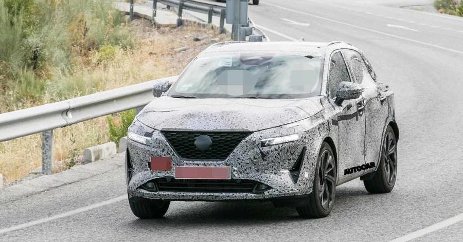 2020 Nissan Qashqai: closest look yet at upcoming SUV
