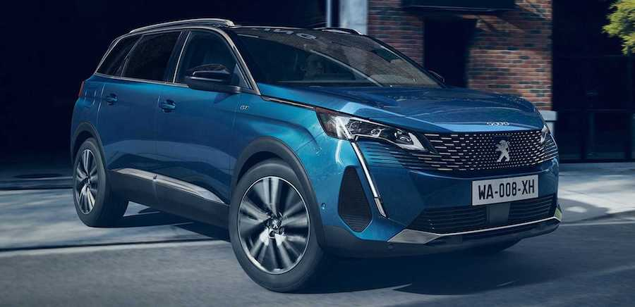 2021 Peugeot 5008 Facelift Debuts With The Same Updates As The 3008