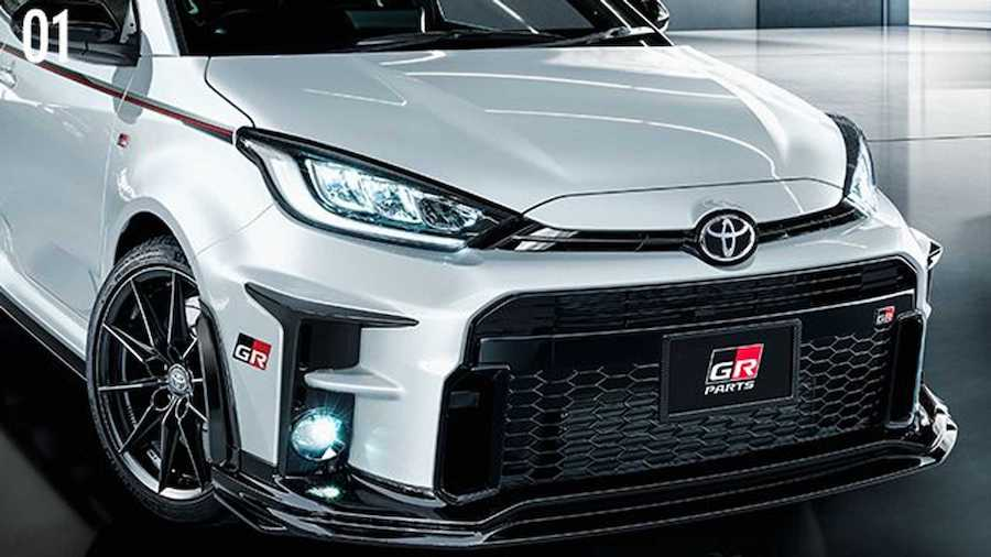Toyota GR Yaris Gets Gazoo Racing Upgrades, Including Quad Exhausts