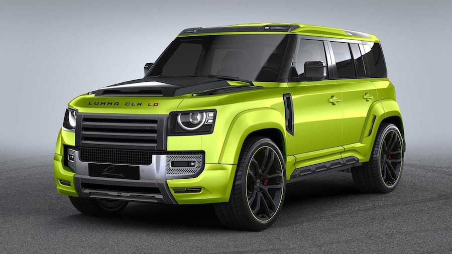 Land Rover Defender By Lumma Design Previews Rugged Body Kit