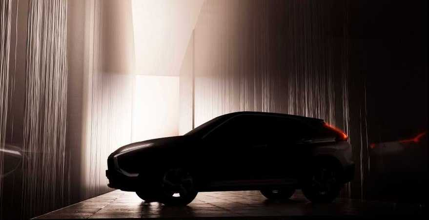 2022 Mitsubishi Eclipse Cross Facelift Teased With Radical Changes