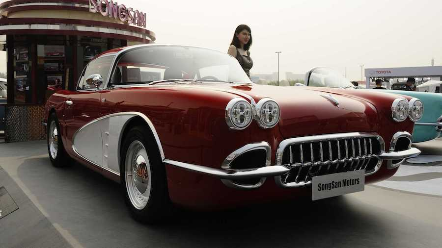 Chevy Doesn't Have A Problem With China's Corvette C1 Copycat