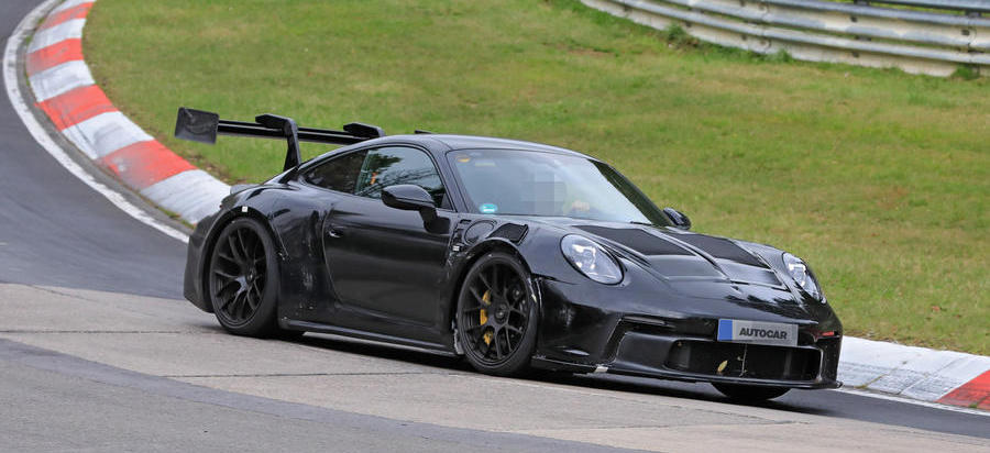 Extreme Porsche 911 GT3 RS prototype hits the Nurburgring