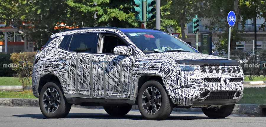 2022 Jeep Compass Rumored To Debut In November