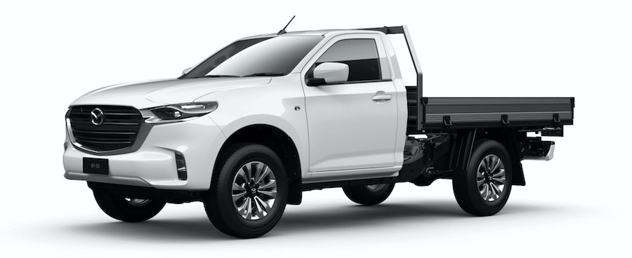 2021 Mazda BT-50 Now Available as Single and Freestyle Chassis Cab