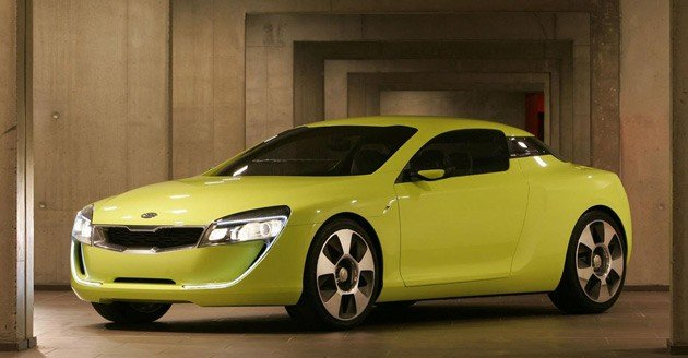 Kia to show rear-drive V8 coupe concepts in Frankfurt, Detroit