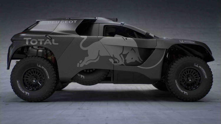 Peugeot Rolls Out Beefed-Up New 2008 DKR16