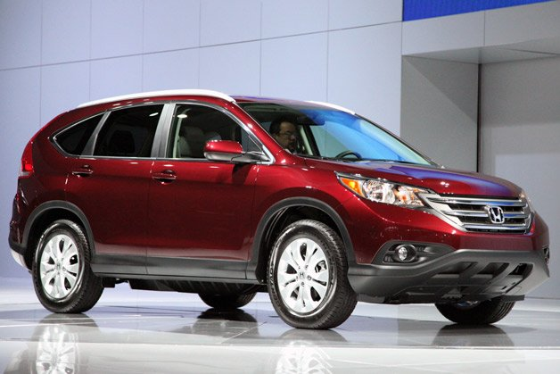 2012 CR-V Proves That Honda And Good Looks Don't Need To Be Strangers