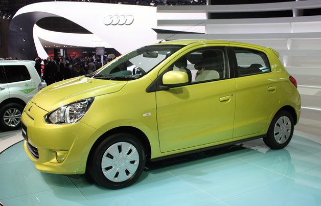 Your Eyes Do Not Deceive, That's The 2012 Mitsubishi Mirage