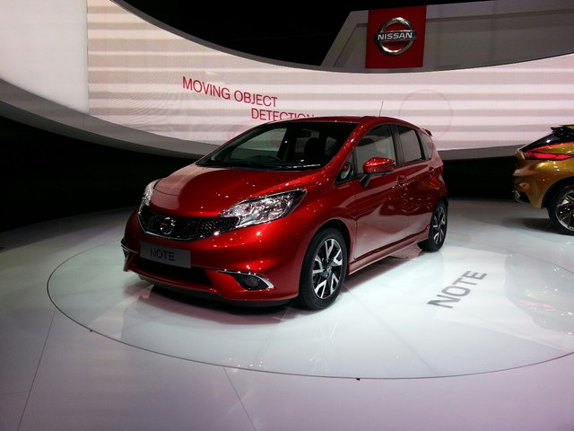 Nissan's European Note Marks its Global Unveiling