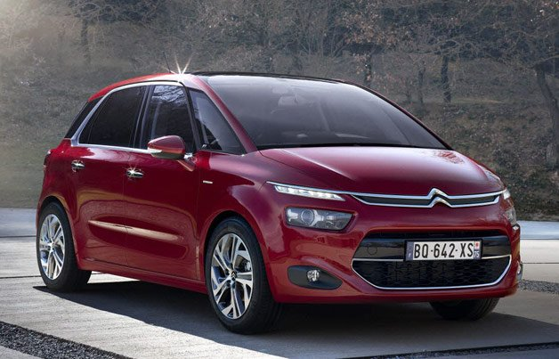 Citroen C4 Picasso Arrives Lighter, Roomier and Euro 6-Approved