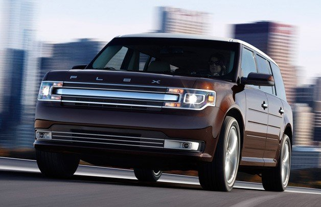 2013 Ford Flex Gets Funkier With New Nose, Updated Power And Tech