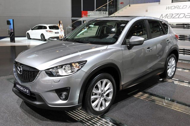 2013 Mazda CX-5 looks better without the camouflage