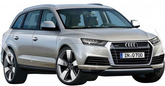 New Audi Q7 to Be Showcased at the 2013 Frankfurt Motor Show?
