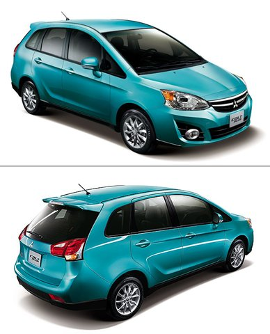 Taiwan: Fully Revamped Mitsubishi Colt Plus Launched
