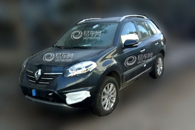 Renault Koleos Prepares for Another Round of Cosmetic Changes