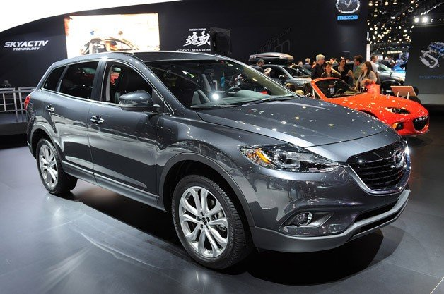 2013 Mazda CX-9 Gets all Kodo-Fied