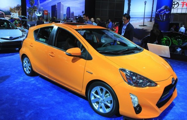 2015 Toyota Prius c  at the 2014 Los Angeles Motor Show